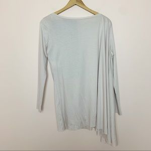 NWT COS Blush Pink Asymmetrical Long Sleeve Top